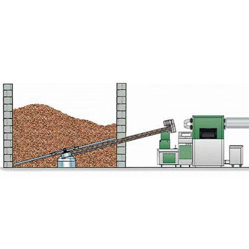 Modularni sustav dopreme sječke/peleta krutim pužnim transportom s mješalicom<br>3~, 400 V