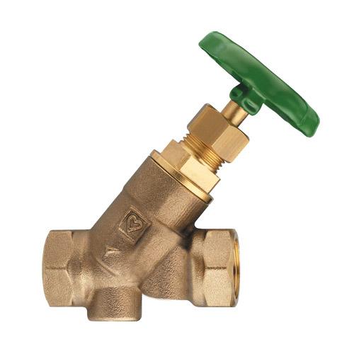 STRÖMAX W zaporni ventil za instalacije sanitarne  vode u objektima, s kosim sjedalom i Rp unutarnjim navojem