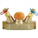 Termostatski regulacijski ventil STRÖMAX TS 99 FV,  ravne izvedbe s mjernim ventilima, G (vanjski navoj)