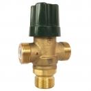 HERZ-ov termički miješajući ventil TMV ulaz hladne vode pod kutom