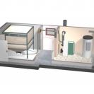 Doprema peleta modularnim sustavom sa stanicom za preuzimanje iz silosa usisavanjem