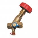 STRÖMAX M, regulacijski ventil ogranka za mjerenje diferencijalnog tlaka, koso sjedalo, s mjernim ventilima, nova izvedba