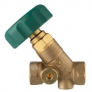 STRÖMAX WD zaporni ventil za instalacije sanitarne  vode u objektima, s kosim sjedalom i s unutarnjim  navojem