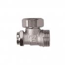 HERZ-ov RL 4 pojedinačni zaporni ventil - Kutna izvedba, za 2-cijevne sustave