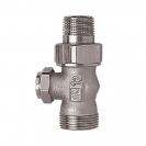 HERZ-ov RL 4 pojedinačni zaporni ventil - Ravna izvedba, za 2-cijevne sustave