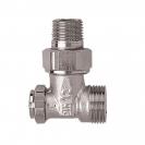HERZ-ov RL 4 pojedinačni zaporni ventil - Kutna izvedba, za 2-cijeven sustave