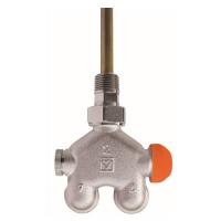 HERZ-ov VUA 40 četveroputni ventil, kutna izvedba, za 2-cijevne sustave