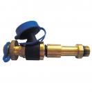 Brzi mjerni ventil, dugi s ravnim plavim ispustom