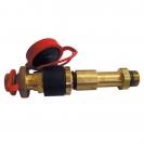 Brzi mjerni ventil, dugi s ravnim crvenim ispustom