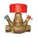 STRÖMAX GM, granski regulacijski ventil  za mjerenje diferencijalnog tlaka, linearna  karakteristika, ravno sjedalo, s mjernim ventilima